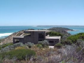 Looking across toward Fort Nepean and Port Phillip Heads