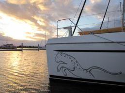 Sunset Scarborough Marina