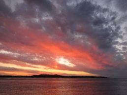 Sunset at Pancake Creek