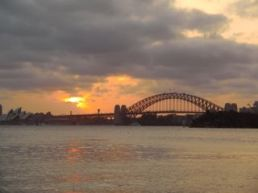 Sunset from Athol Bay