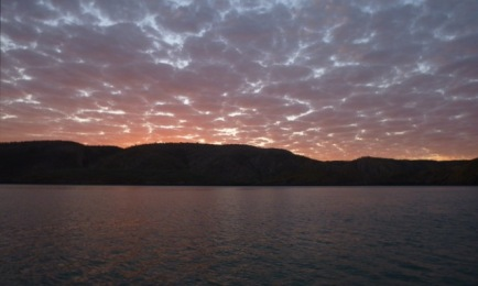 Sunrise Horizontal Falls